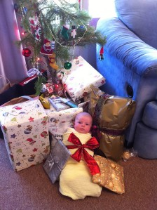 Eleanor's first Christmas