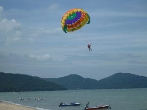 Parasailing at Batu Ferringgi